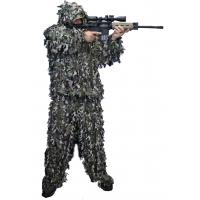 China Woodland Leafy Hunting Suit 3D Leaf Camouflage Complete Hunting Leafy Ghillie Suit on sale