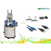 Motor Rotor Vertical Hydraulic Plastic Injection Moulding Machine 60 Ton High Control Precision