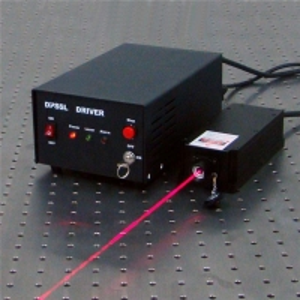 China Single Longitudinal Mode Green Red Laser 532nm DPSS Laser Kit on sale