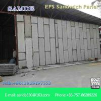 Quality Prefabricated insulated wall panel  installation for the cold room for sale