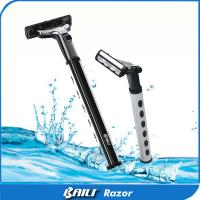 Quality High Polish Stainless Steel Metal Alloy double blade safety razor customize Logo for sale
