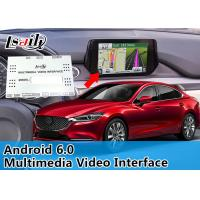 Quality 800 X 480 Resolution Car Multimedia Interface Plug And Play Android Box For Mazda 6 for sale