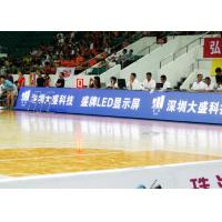 Quality P6 High Definition football stadium advertising boards For Basketball Match for sale