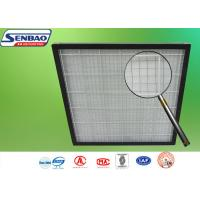Quality Pleated Pre Air Conditioning Air Filters 595 x 595 x 46mm G3 / G4 Panel for sale