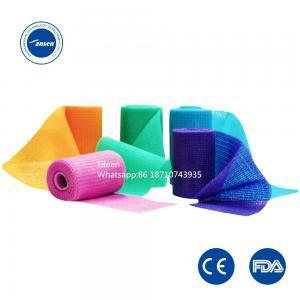 China Surgical Waterproof Medical Cast Bandage Ansen Orthopedic Fiberglass Casting Tape on sale