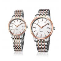 China Ladies Fashion Wrist Watch Stainless Steel  Quartz Couple Lovers Watch OEM Men Fashion Watch on sale