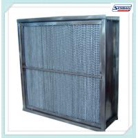 Quality Fiberglass Media High Temperature Hepa Filter Cassette Type Home Hepa Filter for sale