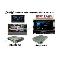 Quality Android Navigation Multimedia System for 3G MMI Audi A6L, A7 , Q5 with Built-in WIFI , On-line Map for sale