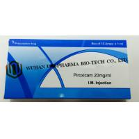 Quality Western Medicine Piroxicam Injection 20mg/1ml  (Has analgesic, anti-inflammatory and antipyretic effect ) for sale