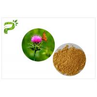 Quality Light Yellow Plant Extract Powder Natural Ingredient Milk Thistle Seed Extract For Liver Medicine for sale