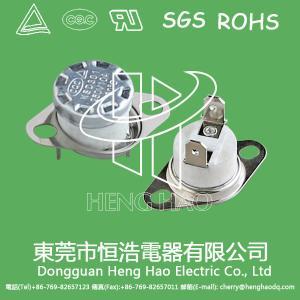 KSD301 auto  reset thermostat,KSD301 bimetal temperature switch