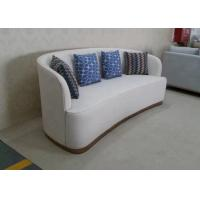 Buy cheap Modern Hotel Bedroom Furniture Fireproof Elegant Fabric Corner Sofa Easy Assemble product
