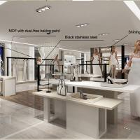 Quality Interior design retail clothes shop counters for sale for sale