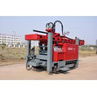 Buy Full Hydraulic Top Drive Crawler Mounted RC4 Water Well Drilling Rig at wholesale prices