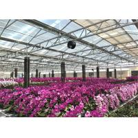 Quality Eco Friendly Materials Garden Glass Greenhouse Aluminium / Steel Metal Type for sale
