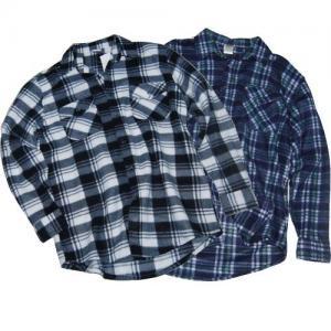 China Long sleeve fleece shirt for men on sale