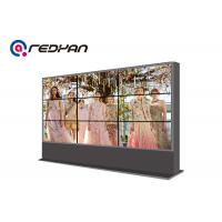 Quality Airport 3 X 3 Seamless LCD Video Wall Display 4k For Restaurant / Hotels for sale