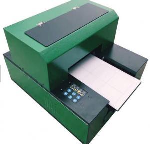Quality Flatbed A3 DX5 1390 Desktop Uv Flatbed Printer , Mug Ceramic Digital Printing Machine for sale