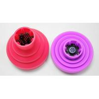 Buy cheap foldable silicone hair dryer diffuser promotional silicone diffuser from wholesalers