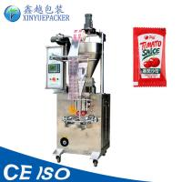 Quality Multi Purpose Automatic Sauce Packing Machine / Bag Filling And Sealing Machine for sale