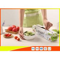Quality Clear Ldpe Cling Film / Food Wrap / Plastic Stretch Film For Food Grade for sale