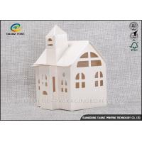 Quality Candy / Cookie Folding Gift Boxes Special House Shaped Strictly Quality Control for sale