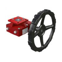 China Clutch Handwheel Gear Operator  Worm Gear Reducer Cooperate With Pneumatic Actuator on sale
