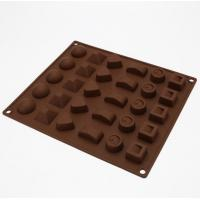 Quality Multi Style Candy Making Molds , Mini Chocolate Molds 3d Christmas Easy Storage for sale