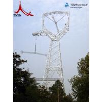 Quality power transmission line steel tower for sale