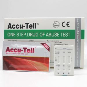 Quality Accu-Tell®Multi-line Drug Rapid Test Cassette (Urine) for sale