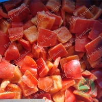 Buy Frozen Red Pepper cubes at wholesale prices