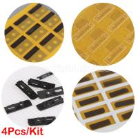 Quality 4 pcs earpiece anti-dust mesh with 3M sticker set for iphone 5 for sale