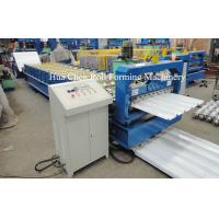 Quality Double Layer Roofing Sheet Roll Forming Machine Width 1200mm , 3 Phase for sale