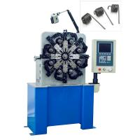 Quality Automatic Torsion Spring Machine Consists Of Cam Axis , Wire Feeding Axis , Rotation Core for sale