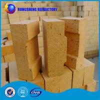Buy cheap 230x114x65mm Al2O3 38- 42% fire resistant bricks High Density For Blast Furnace Glass Kiln product