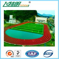 Quality All Weather Tracks 13MM Rubber Running Track Surface Material Sandwich System for sale