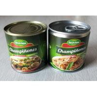Quality 184G Canned Champignon Mushroom Canned Fresh Mushrooms Slices / Pieces And Stems for sale