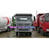 Quality LHD & RHD 6x4 Tri-Ring 375HP 8--12CBM concrete cement mixer truck for Peru for sale