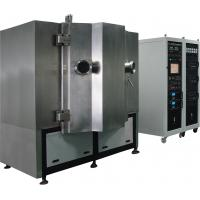 Buy TiN Gold Metal Magnetron Sputtering Coating Machine , ZrN Gold Plating Service at wholesale prices