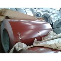 Buy cheap Zn 60g Color Coated Steel Coil , Prepainted Galvanized Steel Coil product