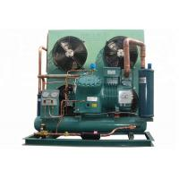 China Commercial Bitzer Condensing Unit , Bitzer Semi Hermetic Reciprocating Refrigeration Compressor Compact Structure on sale