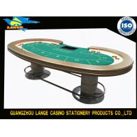 Buy cheap Green Casino Texas Holdem Poker Table With Waterproof Tablecloth from wholesalers
