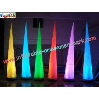 China Inflatable Lighting Decoration Cone with LED changing light use for party, club,event on sale