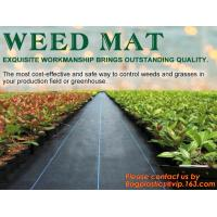 Quality China Supplier Anti Weed Mat Weed Control Mat 100gsm PP Landscape Fabric Weed Barrier,Weed block mat keep damp and tempe for sale