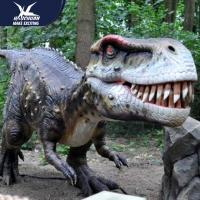 Quality Zoo Equipement Realistic Dinosaur Models Handmade Customizable Size for sale