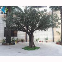 Green Leaf Artificial Olive Tree For Home Garden Decoration 3m Height for sale