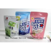 Quality Personal Care Stand Up Pouch Packaging For Jelly / Pet Food and Washing Powder for sale