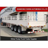 Buy cheap 40 Feet Multi Axles Cattle Transport Trailers For Animal Bulk Grain Transport product