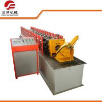 Quality 1.2 Mm Thickness Steel Door Frame Roll Forming Machine For Door Decoration for sale