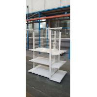 Quality Durable Tool Storage Rack Shelf In Supermarket , Gondola Grocery Store Shelving for sale
